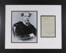 Charles Dickens Autograph Signed Letter